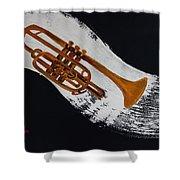 Acrylic Msc 117 Shower Curtain