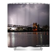 Act Of God Shower Curtain