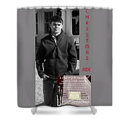 Actor In Christmas Ride Film Shower Curtain
