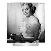 Actress Patricia Neal Shower Curtain
