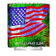 Acts 22 28 Shower Curtain