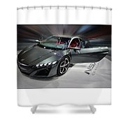 Acura N S X Sh Concept 2013 Shower Curtain