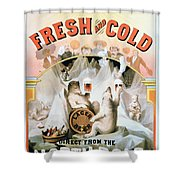 Ad Beer, C1877 Shower Curtain