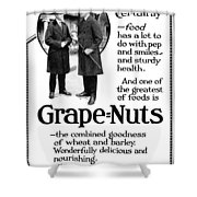 Ad Grape Nuts, 1919 Shower Curtain