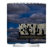 Ad Space Available Shower Curtain