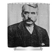 Adam Worth (1844-1902) Shower Curtain