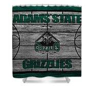 Adams State Grizzlies Shower Curtain