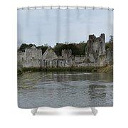 Adare Ireland Views Of Desmond Castle Shower Curtain
