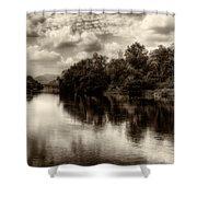 Adda River 2 Shower Curtain