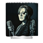 Adele 2 Shower Curtain