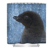 Adelie Winter Magic... Shower Curtain