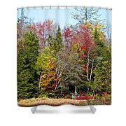 Adirondack Color II Shower Curtain