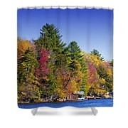 Adirondack Color Ix Shower Curtain