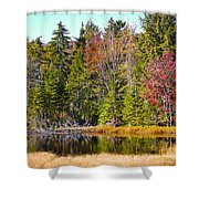 Adirondack Color Near Old Forge New York Shower Curtain