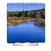Adirondack Color Vii Shower Curtain