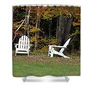 Adirondack Foliage Shower Curtain