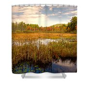 Adirondack Pond Shower Curtain
