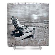 Adirondack Sunrise Topsail Island Shower Curtain