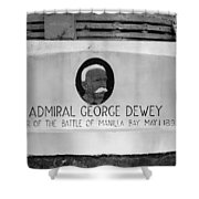 Admiral Dewey Monument Shower Curtain