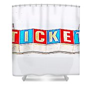 Admission Shower Curtain