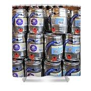 Adnams Jubilee Beer Keg Shower Curtain