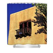 Adobe And Ristras Shower Curtain