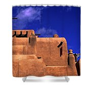 Adobe Architecture Shower Curtain