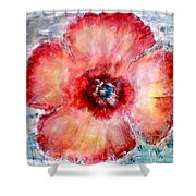 Adobe Poppy Shower Curtain