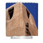 Adobe Tower Shower Curtain