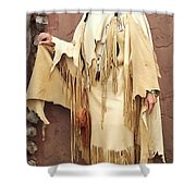 Adobe Wall Shower Curtain