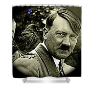 Adolf Hitler And A Feathered Friend C.1941-2008 Shower Curtain