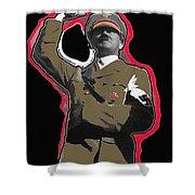 Adolf Hitler Saluting 2 Circa 1933-2009 Shower Curtain