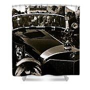 Adolf Hitler's 1941 Mercedes-benz 770-k Touring Car Sold At Auction Scottsdale Arizona 1973 Shower Curtain