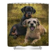 Adoption Is The Best Answer - Painting Shower Curtain