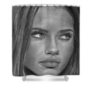 Adriana Lima 2 Shower Curtain