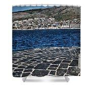 Adriatic Sea Shower Curtain