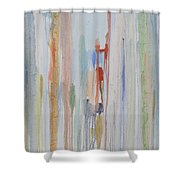 Adrift On The Sea Of Life Shower Curtain