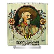 Adventures Of Buffalo Bill Shower Curtain