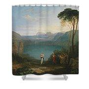 Aeneas And The Cumaean Sybil Shower Curtain