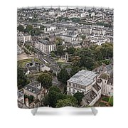 Aerial Chartres Shower Curtain