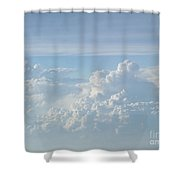 Aerial Formation Shower Curtain