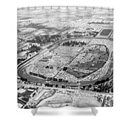 Aerial Of Indy 500 Shower Curtain