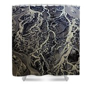 Aerial Photography Shower Curtain