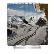Aerial View From Bush Plane Shower Curtain