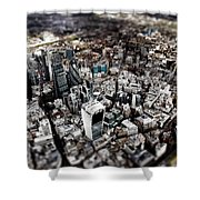 Aerial View Of London 3 Shower Curtain