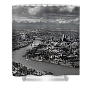 Aerial View Of London 4 Shower Curtain