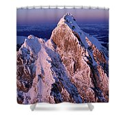 Aerial View Of The Grand Teton Shower Curtain