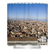 Aerial View Of Venice Shower Curtain