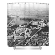 Aerial View Of Windsor Castle. Shower Curtain