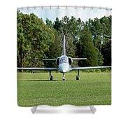 Aero L-39 Shower Curtain